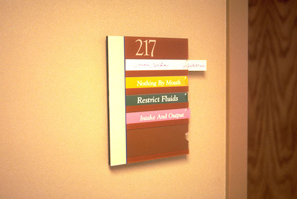 Wayfinding Signage Design Image SAH6. The Design Office of Steve Neumann and Friends, Houston, Texas, 713.629.7501