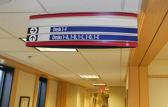 Wayfinding Signage Design Image MC25. The Design Office of Steve Neumann and Friends, Houston, Texas, 713.629.7501